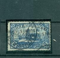 Deutsch Südwestafrika DSWA, Schiffszeichnung Nr. 21 Gestempelt - Kolonie: Deutsch-Südwestafrika