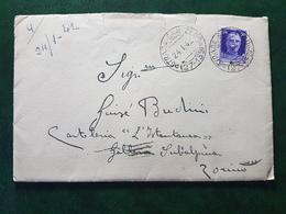 (36988) STORIA POSTALE ITALIA 1942 - 1900-44 Victor Emmanuel III