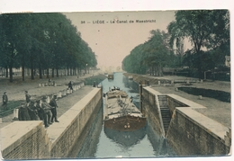 CPA - Belgique - Liège - Le Canal De Maestricht - Liege