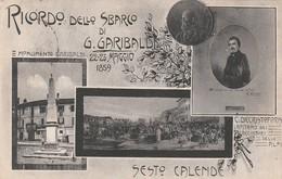 RICORDO DELLO SBARCO MDI GARIBALDI - SESTO CALENDE - Varese