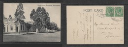 South Africa,  Government Buildings, Klerksdorp, 9Transvaal), Used, 1d, 1920 > Holland - South Africa