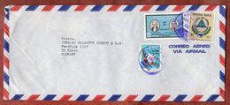 Luftpost, Wappen U.a., San Jose Nach Mainz 1972 (73356) - Costa Rica