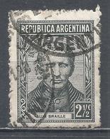 Argentina 1939. Scott #421 (U) Inventor, Louis Braille * - Argentina
