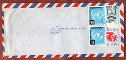 Luftpost, Telefon U.a., San Jose Nach Mainz 1976 (73357) - Costa Rica