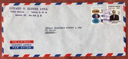 Luftpost, Rechnungshof U.a., San Jose Nach Mainz 1977? (73358) - Costa Rica