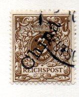 APR32 - CINA Uffici Tedeschi 1897 , Yvert N. 1 Usato - Offices: China