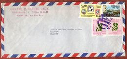 Luftpost, Boston Tea Party U.a., San Jose Nach Mainz 1977 (73359) - Costa Rica
