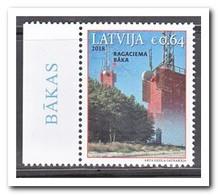 Letland 2018, Postfris MNH, Lighthouse - Kirgizië