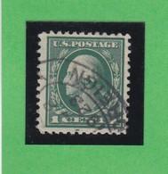 Etats-Unis  N°182 - 1912-1915  -  B. FRANKLIN  - Oblitérés - United States