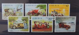 Liberia - Stamps Car - Timbres Thematique Voiture - Liberia