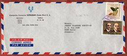 Luftpost, Brenesia U.a., San Jose Nach Mainz 1976 (73361) - Costa Rica