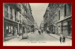 Rennes * Rue D'orléans  ( Scan Recto Et Verso ) - Rennes