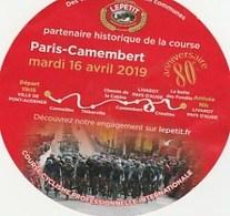 CAMEMBERT NORMAND  LEPETIT Pour Amateurs De Fromage Et Professionnels Cyclistes  2 SCANS - Wielrennen