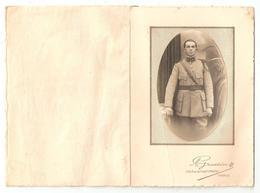 Photo Militaria Collée Sur Carte Uniforme 31 ème Régiment - Photographie De A. Grossin, 236 Rue Faub. St Martin Paris - Uniform