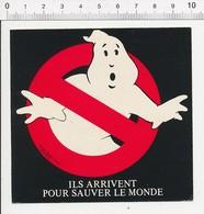 Autocollant Sticker Publicité Cinéma Film Ils Arrivent Pour Sauver Le Monde (Ghosbusters)  21ADH17 - Autocollants