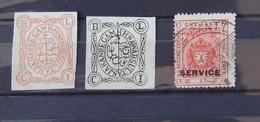 Feudatory State Stamps - Bhopal - No Gum - Bhopal