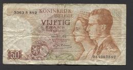 België 50 Frank 14-5- 1966 -NO: 3363 S 882 - 50 Francs