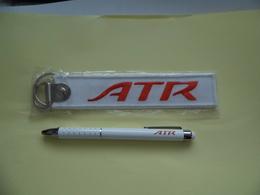 ATR - Avions De Transport Régional - Stylo & Porte- Clé - Advertisements