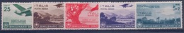 ITALIE - PA 91/95 SERIE COMPLETE NEUF* MLH CHARNIERE PROPRE COTE 40 EUR - Italien