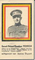 DP Oorlog - WOII - Officier Gerard Hubert Theodoor VENKEN ° Turnhout 1901 Gefusilleerd Hasselt 29/6/1944 - Religion & Esotérisme