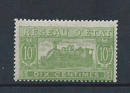 FRANCE - 1901 - Colis Postaux - Y.T. N°10 - 10 C. Vert Pâle - Dentelé - Neuf** - TTB - Neufs