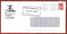 Brief, Marianne, MS Lens, 1999 (73372) - Poststempel (Briefe)