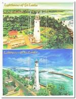 Sri Lanka 2018, Postfris MNH, Lighthouses - Sri Lanka (Ceylon) (1948-...)