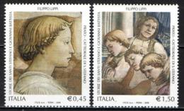 ITALIA - 2005 - FILIPPO LIPPI: STORIE DEI SANTI STEFANO E GIOVANNI BATTISTA - PRATO - CATTEDRALE DI SANTO STEFANO - MNH - 1946-.. République