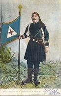 GRECE Porte Drapeau De La Gendarmerie De SAMOS 1909 - Grèce