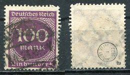 Deutsches Reich Michel-Nr. 268a Gestempelt - Geprüft - Deutschland