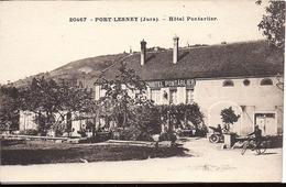 PORT LESNEY Hotel Pontarlier édition CH Girardot & Cie Besançon - Frankreich