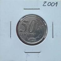 LSJP BRAZIL 50 CENTS SCARCE COIN 2001 - Brazil