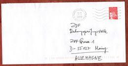 Brief, Marianne, MS Paris Conservatoire, 2000 (73379) - Poststempel (Briefe)