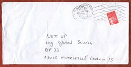 Brief, Marianne, MS Le Plessis Trevise, 2000 (73380) - Poststempel (Briefe)