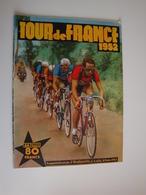 Cyclisme,Tour De France 1952,départ De Brest,Roubaix,Lausanne,Toulouse,Bordeaux,Vichy,Paris.42 Pages - Sport