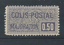 FRANCE - 1918-20 - Colis Postaux - Y.T. N°21 - 50 C. Violet Foncé - Dentelé - Neuf** - TTB - Colis Postaux