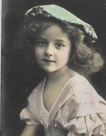 CPA 1912 D'origine Trés Rare Belle Carte Jolie Fillette Belle Tenue Pretty Little Girl Hat - Portraits