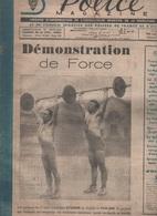 SPORTS POLICE MAGAZINE 03 1949 - HALTEROPHILIE - TRAVESTIS & DEGUISEMENTS CARNAVAL - JOSEPH FOUCHE - RUGBY PARIS LONDRES - Sonstige