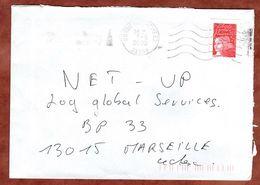 Brief, Marianne, MS Bordeaux Armees, 2000 (73383) - Poststempel (Briefe)