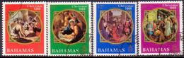 BAHAMAS 1969 SG #338-41 Compl.set Used Christmas - Bahamas (...-1973)