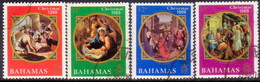 BAHAMAS 1969 SG #338-41 Compl.set Used Christmas - 1963-1973 Ministerial Government