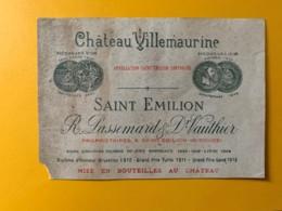 10542 - Château Villemaurine  Saint-Emilion Manque Un Coin - Bordeaux