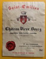 10546- Château Vieux-Bourg  Saint-Emilion - Bordeaux