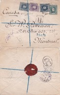 1903 Registered Cover Fro Barcelona To Canada  Via New York {Please  Wait For Invoice} - Storia Postale