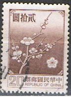 TAIWAN 10 // YVERT 1238 // 1970-79 - Gebraucht