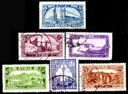 Siria-00023 - Valori Del 1925 (o) Used - Senza Difetti Occulti. - Siria (1919-1945)
