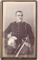 Cdv -  HUSSARD DU 11   CASQUE ET EPEE  PH. G. BLANCHIN FILS  TARASCON - Guerre, Militaire