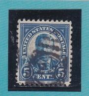 Etats-Unis  N°232 - 1922-25  -  TH. ROOSEVELT  - Oblitérés - Etats-Unis
