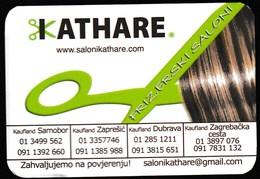 Pocket Calendar / Croatia 2019 / Hair Salon Kathare - Calendars