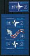 BULGARIA 2019 HISTORY 15 Years Of Bulgaria In NATO - Fine Stamp + Sheet MNH - Ungebraucht